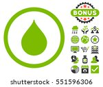 drop icon with bonus design... | Shutterstock . vector #551596306