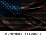 usa flag background | Shutterstock . vector #551608348
