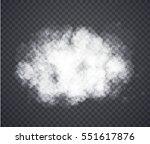 fog or smoke. illustration... | Shutterstock .eps vector #551617876