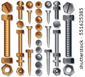 construction hardware icons  ... | Shutterstock .eps vector #551625385