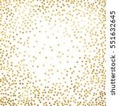 gold glitter background polka... | Shutterstock .eps vector #551632645