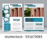 abstract flyer design... | Shutterstock .eps vector #551673085
