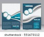 abstract flyer design... | Shutterstock .eps vector #551673112