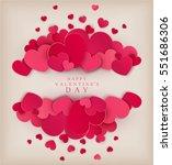vector festive background... | Shutterstock .eps vector #551686306