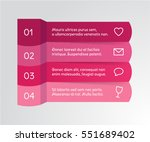abstract steps infographics....   Shutterstock .eps vector #551689402