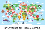 vector flat style illustration...   Shutterstock .eps vector #551762965
