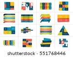 big set of tables  schedules ... | Shutterstock .eps vector #551768446