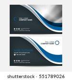 business card vector background | Shutterstock .eps vector #551789026