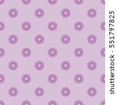 small violet flowers seamless... | Shutterstock .eps vector #551797825