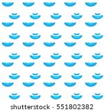 sea wave seamless pattern...   Shutterstock .eps vector #551802382