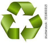 Green Economic Recycle Sign On...