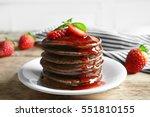 Delicious Chocolate Pancakes...