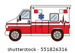 ambulance. transport  rescue | Shutterstock .eps vector #551826316