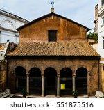 basilica of sts. vitalis  san... | Shutterstock . vector #551875516