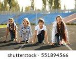 Cheerful Children In Ready...