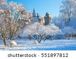 Cardiff Castle  Snow  Bute Par...
