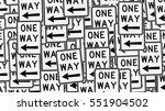 large aligned pile of left...   Shutterstock . vector #551904502