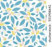 vector endless seamless pattern.... | Shutterstock .eps vector #551908642
