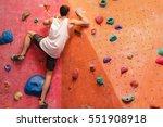 Man Climber On Artificial...