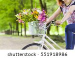 cropped image of a woman... | Shutterstock . vector #551918986
