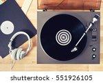 Turntable Vinyl Record Player ...