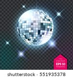 vector illustration of silver... | Shutterstock .eps vector #551935378