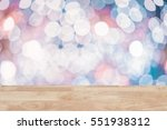 blurred blue color bokeh with...   Shutterstock . vector #551938312