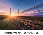high speed passenger train in...
