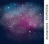 background of the universe.... | Shutterstock .eps vector #551952526