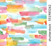 watercolor stripes   abstract...   Shutterstock . vector #551985262