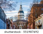 The Maryland State House  In...