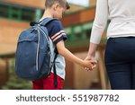 education  childhood  family... | Shutterstock . vector #551987782