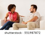 friendship  communication and... | Shutterstock . vector #551987872