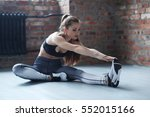 Workout  Sport. Woman In The Gym