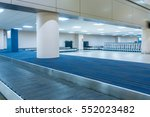 empty conveyor belt for... | Shutterstock . vector #552023482