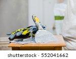 constructor's tools on... | Shutterstock . vector #552041662