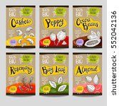 set of colorful labels  sketch... | Shutterstock .eps vector #552042136