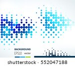 abstract background with... | Shutterstock .eps vector #552047188