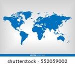 World Map Vector Illustration...