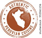 authentic peruvian food menu... | Shutterstock .eps vector #552061156