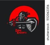 dark knights | Shutterstock .eps vector #552062356