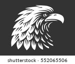 eagle head   vector... | Shutterstock .eps vector #552065506