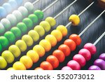 Colorful Of Wood Abacus ...