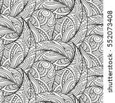 vector black and white... | Shutterstock .eps vector #552073408