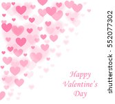 happy valentines day... | Shutterstock .eps vector #552077302