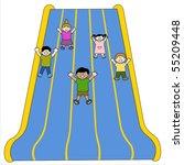 Giant Slides Vector