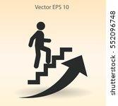 career ladder vector icon | Shutterstock .eps vector #552096748