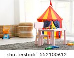 Interior Of Colorful Playing...