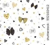 seamless pattern of randomly...   Shutterstock .eps vector #552102412