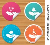 round stickers or website